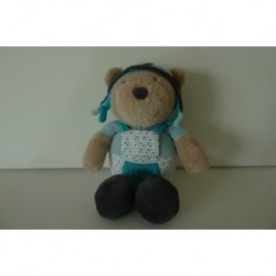 DOUDOU OURS OSCAR PELUCHE COLLECTION LAZARE SAUTHON