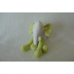 DOUDOU ELEPHANT PELUCHE GRAIN DE BLE