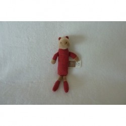 DOUDOU HIPPOPOTAME HOCHET COLLECTION LES LOUPIOTS DU MOULIN MOULIN ROTY