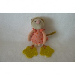 DOUDOU LUCIOLE HOCHET COLLECTION LES TARTEMPOIS MOULIN ROTY