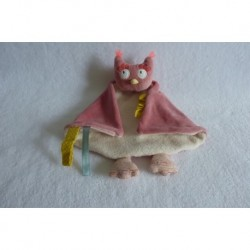 DOUDOU CHOUETTE MADEMOISELLE ET RIBAMBELLE MOULIN ROTY