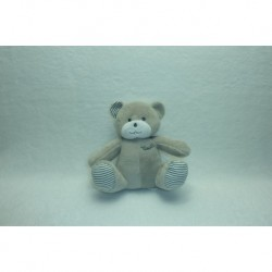 DOUDOU OURS PELUCHE MUSTELA