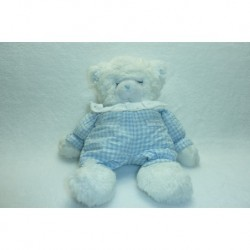 DOUDOU OURS PELUCHE VINTAGE DE COLLECTION BOULGOM