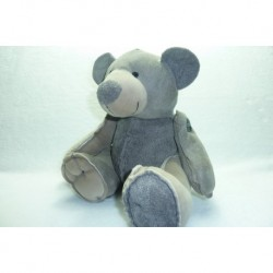 DOUDOU OURS PELUCHE GRAND MODELE HAPPY HORSE