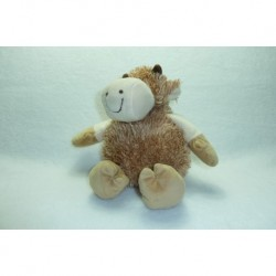 DOUDOU VACHE PELUCHE CP INTERNATIONAL