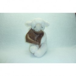 DOUDOU MOUTON PELUCHE AVEC MOUCHOIR PIA INTERNATIONAL