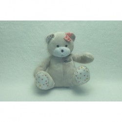 DOUDOU OURS PELUCHE MUSTI MUSTELA