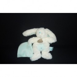 DOUDOU LAPIN AVEC MOUCHOIR COLLECTION LES CALINS BABY'NAT