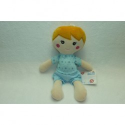 DOUDOU POUPEE PELUCHE ONE TWO FUN AUCHAN