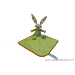Doudou lapin peluche mouchoir SOS Doudou Tiamo Collection