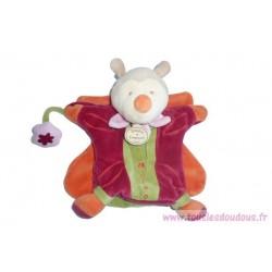 Doudou papillon marionnette Miloo DC1561 SOS doudou Doudou et Compagnie