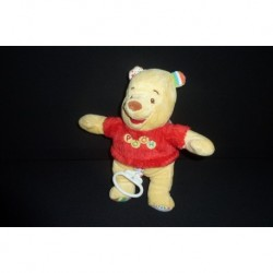 DOUDOU OURS WINNIE L'OURSON MUSICAL  DISNEY