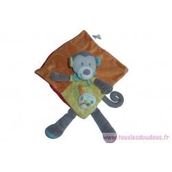 Doudou singe SOS Doudou Nicotoy Simba Dickie