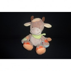 DOUDOU VACHE PELUCHE COLLECTION LITTLE GARDEN NATTOU