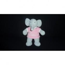 DOUDOU ELEPHANT FLORE LANSAY