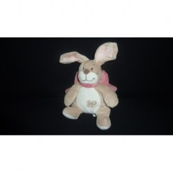 DOUDOU LAPIN PELUCHE COLLECTION OSCARINE ET LEONTINE NOUKIE'S