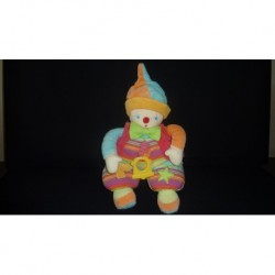 DOUDOU CLOWN MUSICAL COROLLE